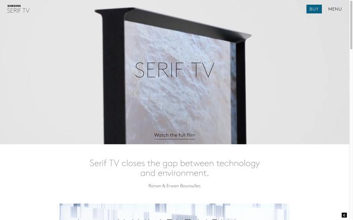 Serif TV website 1