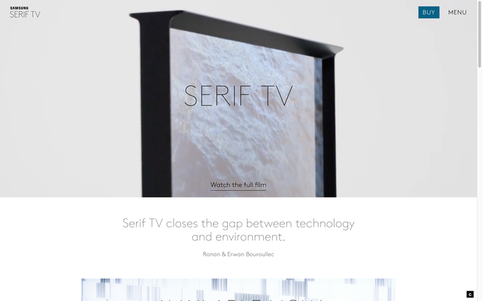 Serif TV website 1