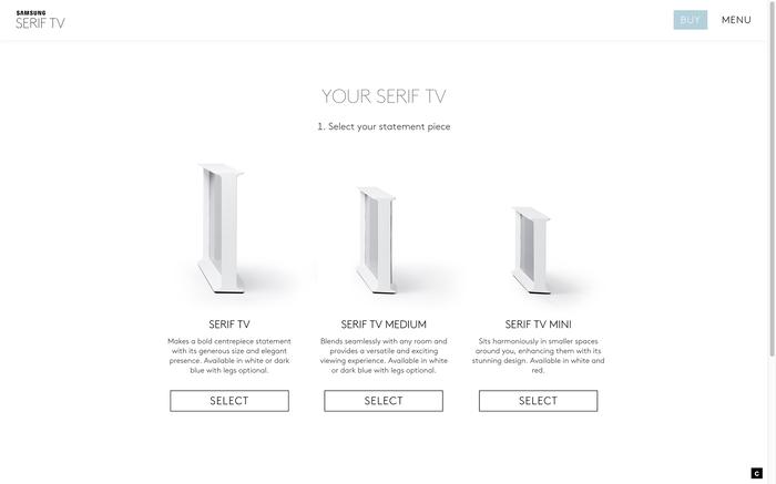 Serif TV website 5