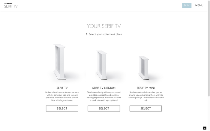 Serif TV website 5