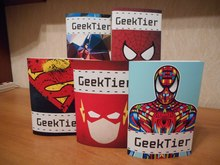 GeekTier sketchbooks
