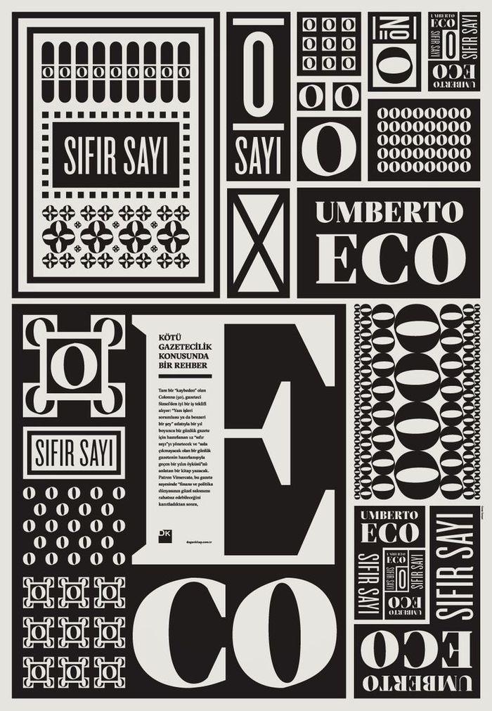 Poster for Umberto Eco's Sıfır Sayı (Numero Zero)