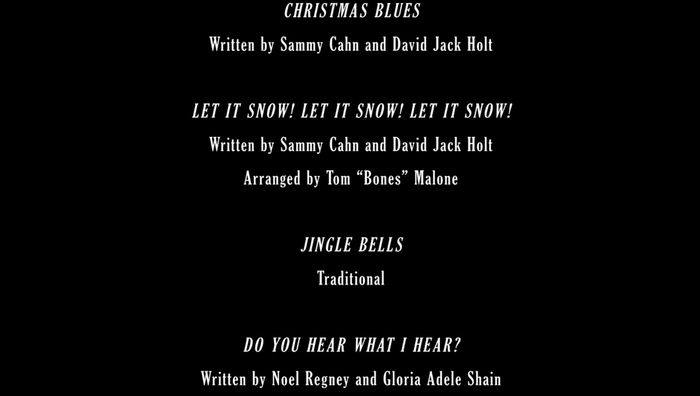 A Very Murray Christmas end titles 7