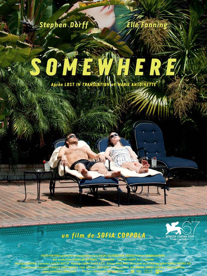 Somewhere movie poster (original) 1