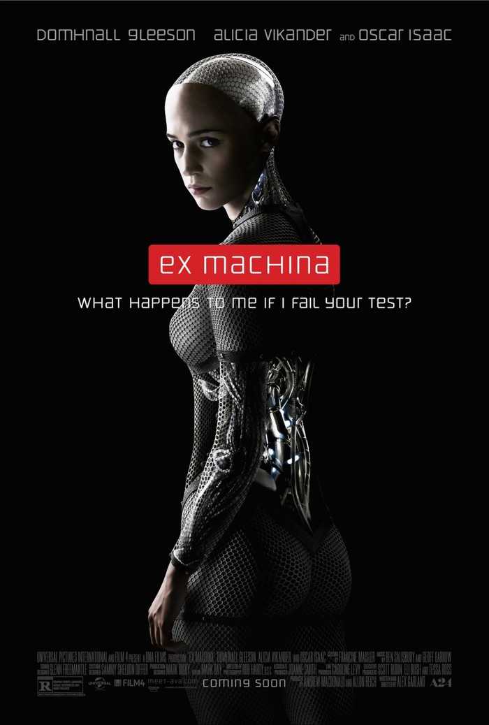 Ex Machina logo, posters, and marketing 3