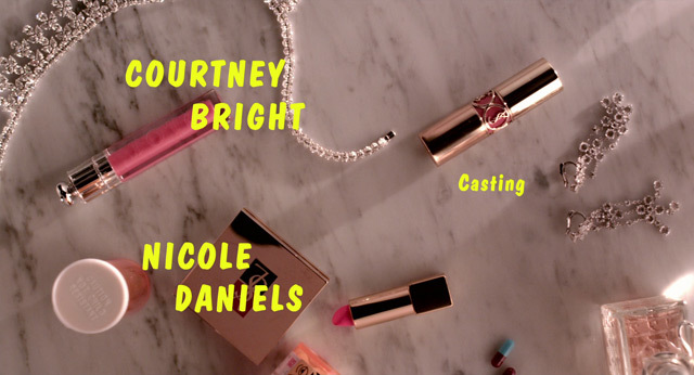 The Bling Ring opening titles 7