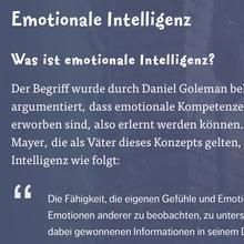 Gefühle verstehen. Innerlich stark sein!