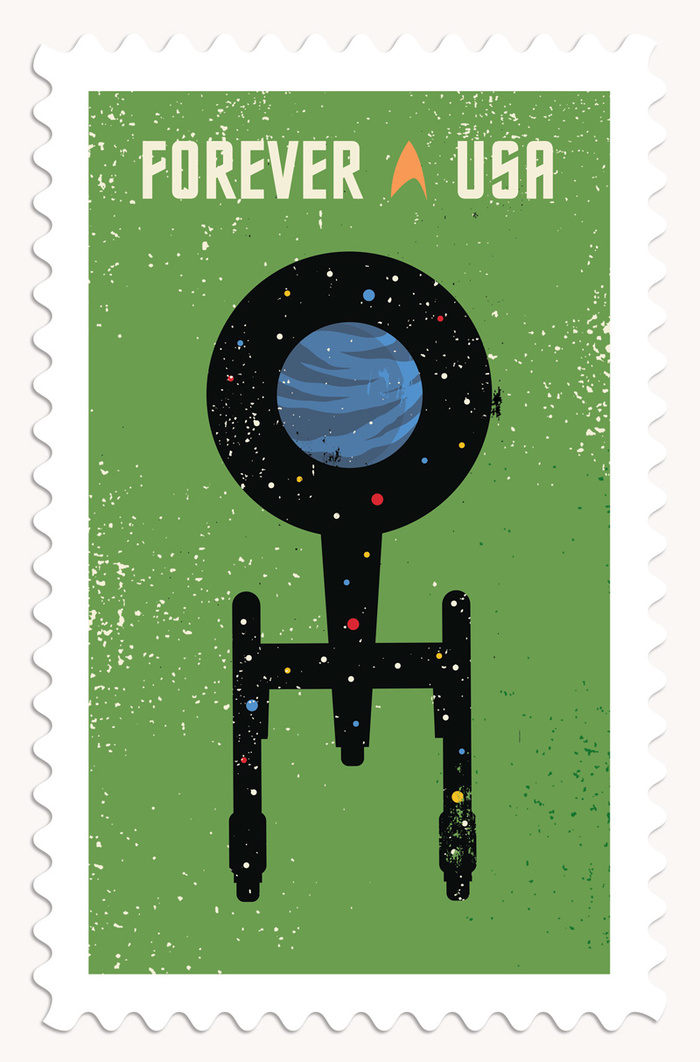 Star Trek postage stamps 3
