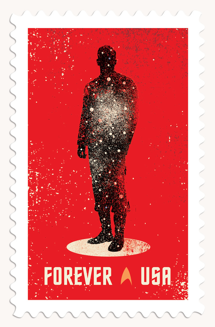 Star Trek postage stamps 2