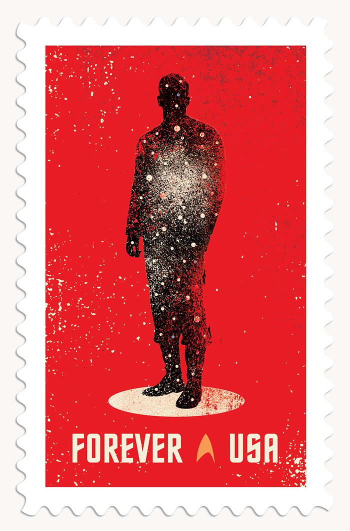 Star Trek postage stamps 2