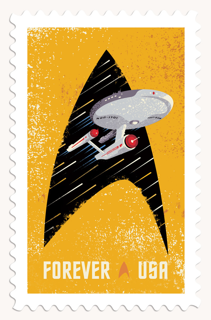 Star Trek postage stamps 4
