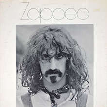 Frank Zappa – <cite>Zapped</cite> (Version 2) album art