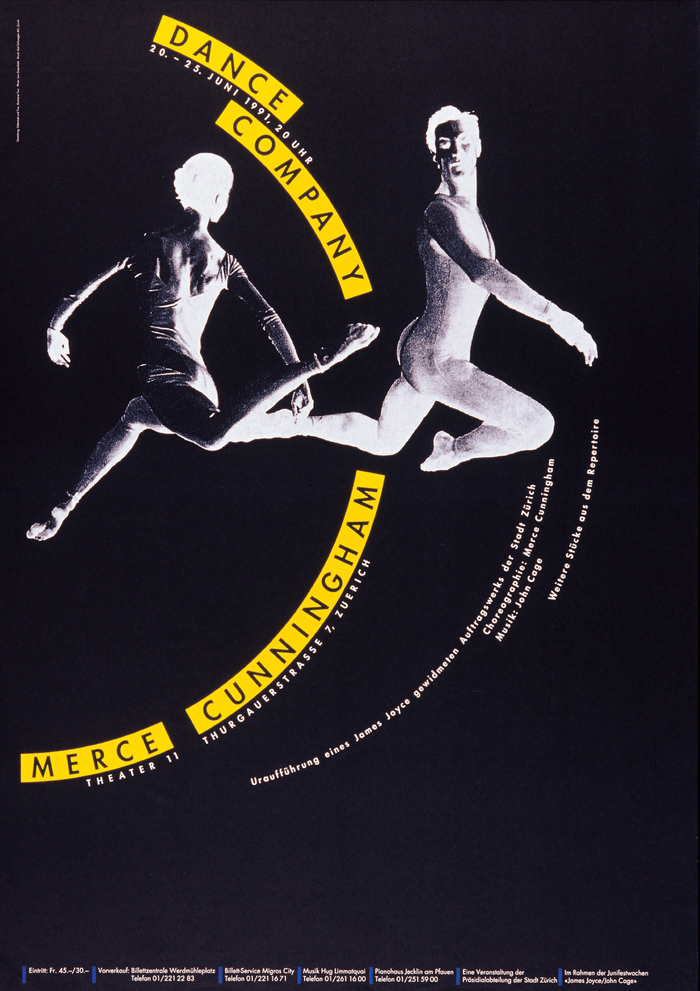 Merce Cunningham Dance Company at Theater 11
