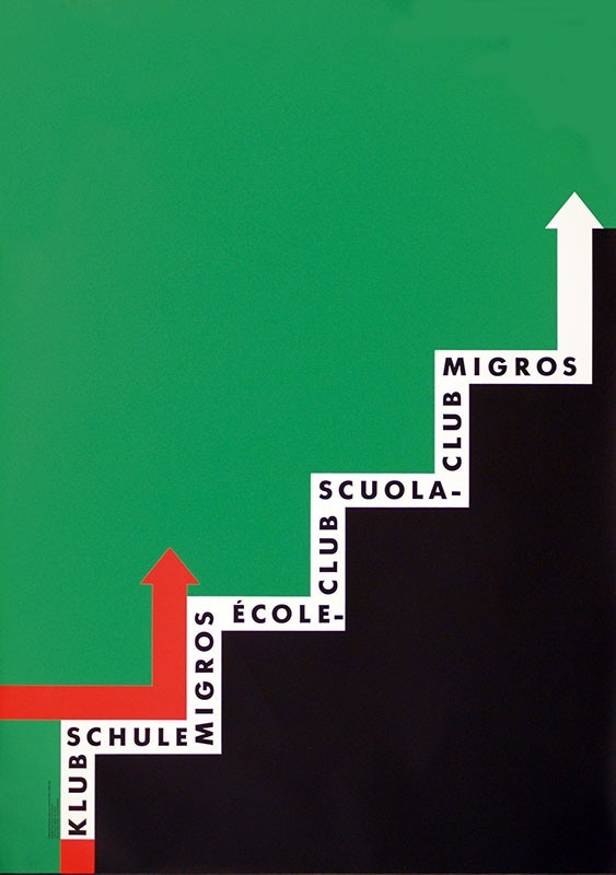 Klubschule Migros poster 2