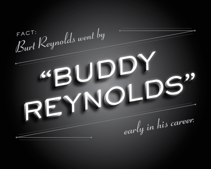 But Enough About Me by Burt Reynolds social graphics 1