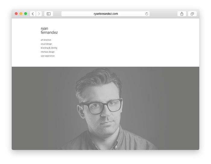 Ryan Fernandez, Visual Design & Art Direction 1