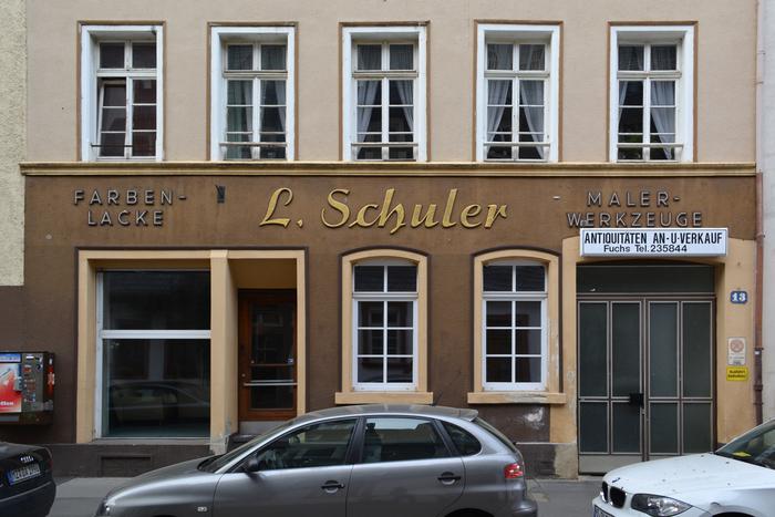 L. Schuler on Kapuzinerstraße 13, Mainz.
