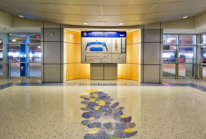 Dallas/Fort Worth International Airport wayfinding 5