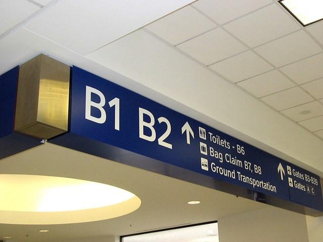 Dallas/Fort Worth International Airport wayfinding 3