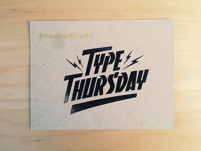 Type Thursday: January 2015 logo 1