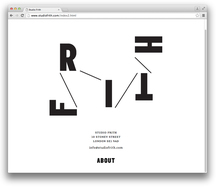 Studio Frith website