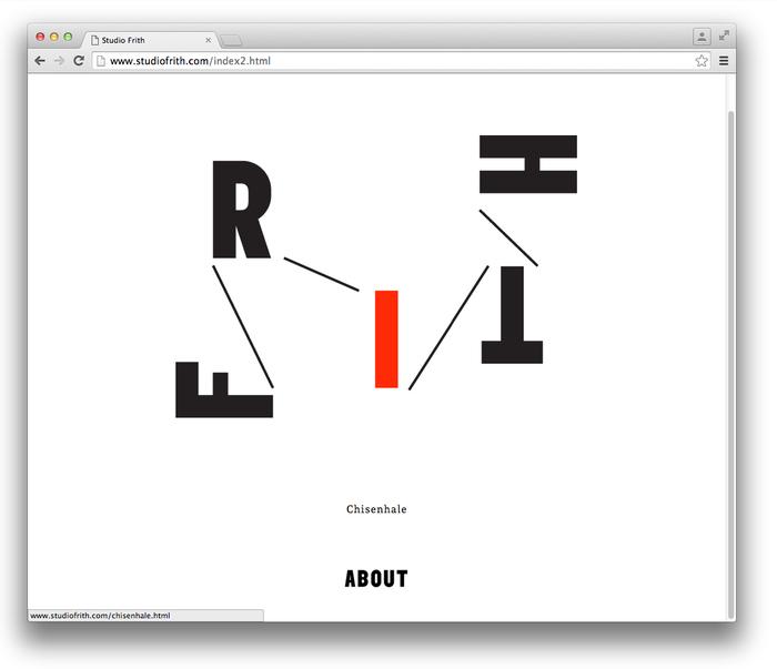 Studio Frith website 3