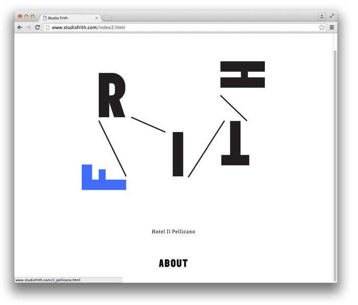 Studio Frith website 4
