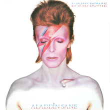 David Bowie – <cite>Aladdin Sane</cite> album art