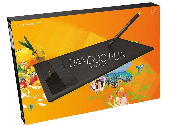 Wacom Bamboo tablet 1