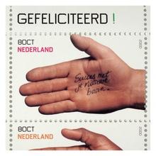 Gefeliciteerd! (Congratulations) stamps