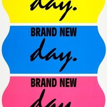 <cite>Brand New Day</cite> print