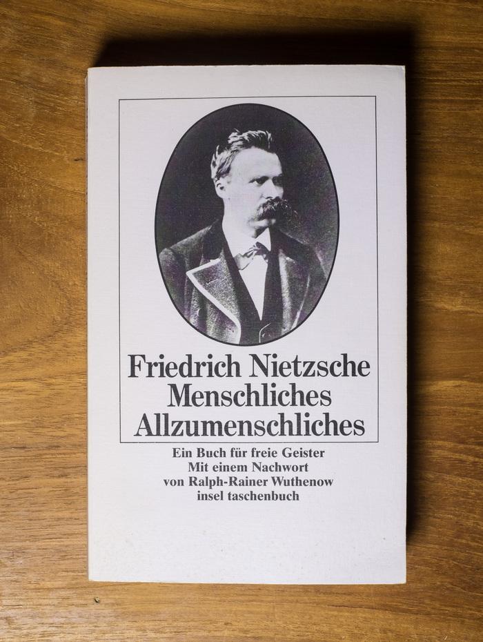 Menschliches, Allzumenschliches by Nietzsche 1