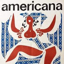"""Americana"" Budapest poster"