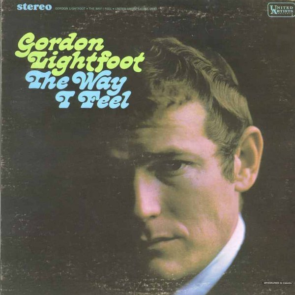 Gordon Lightfoot – The Way I Feel album art