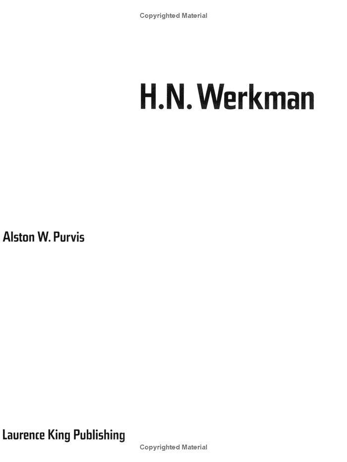 H.N. Werkman by Alston W. Purvis 2
