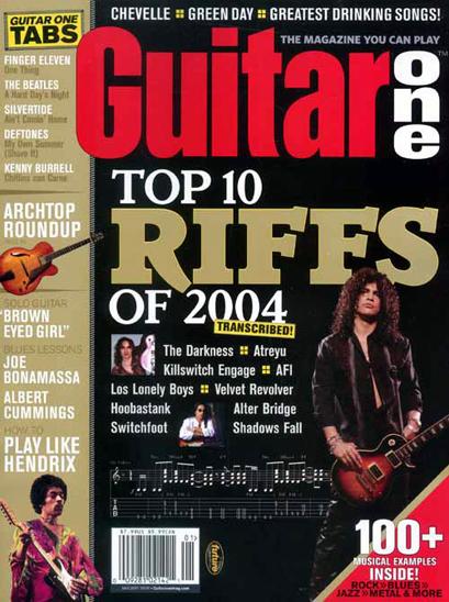 Guitar One magazine
