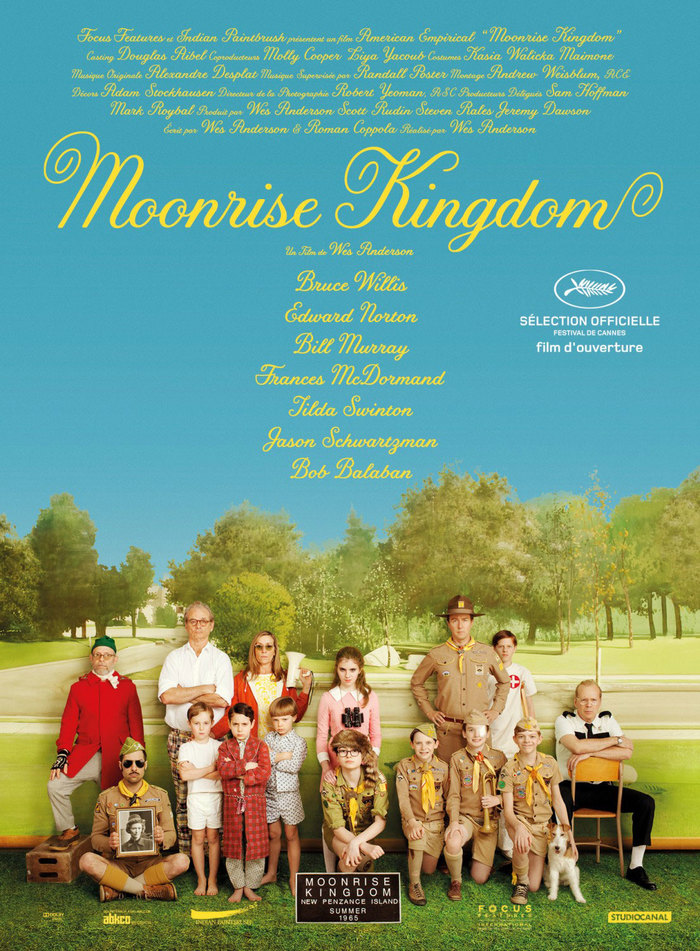 Moonrise Kingdom poster and website 1