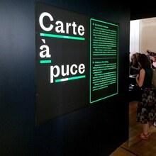 <cite>Carte à puce</cite> exhibition