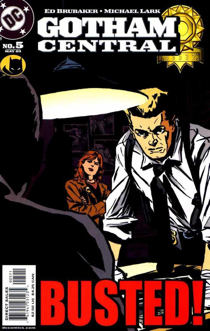 Gotham Central logo 5