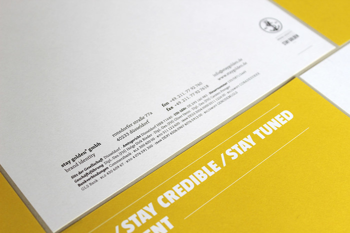Stay Golden stationery 4
