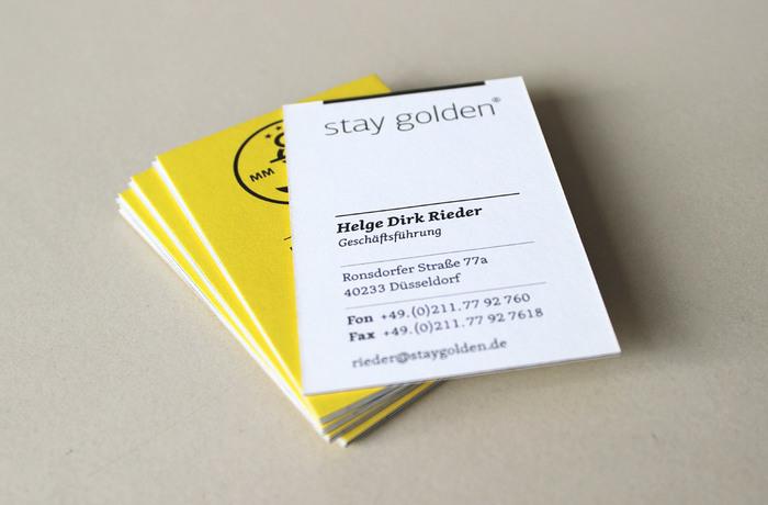 Stay Golden stationery 2