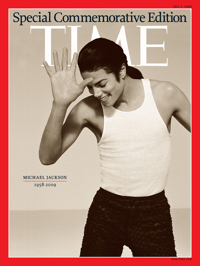 TIME, Special Michael Jackson Edition