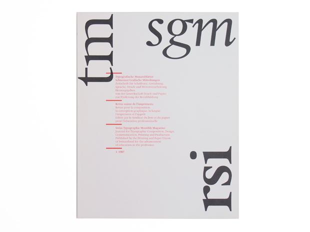 Typografische Monatsblätter, Nr. 2, 1987 3
