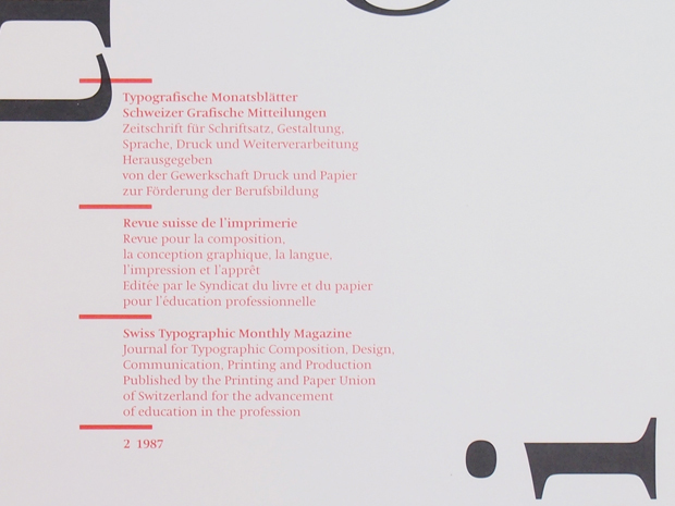 Typografische Monatsblätter, Nr. 2, 1987 4