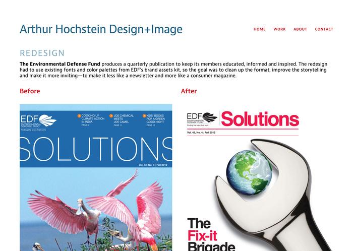Arthur Hochstein portfolio site 2