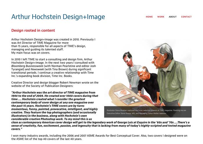 Arthur Hochstein portfolio site 3