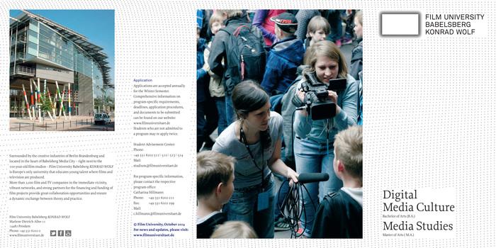 Filmuniversität BabelsbergKONRAD WOLF 1