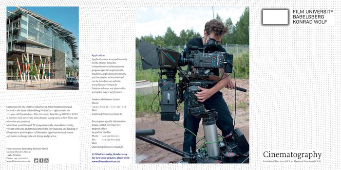 Filmuniversität BabelsbergKONRAD WOLF 2