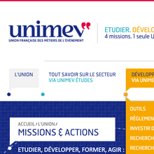 Unimev identity and website