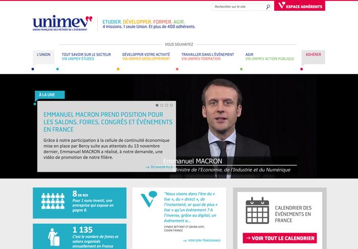 Unimev identity and website 2